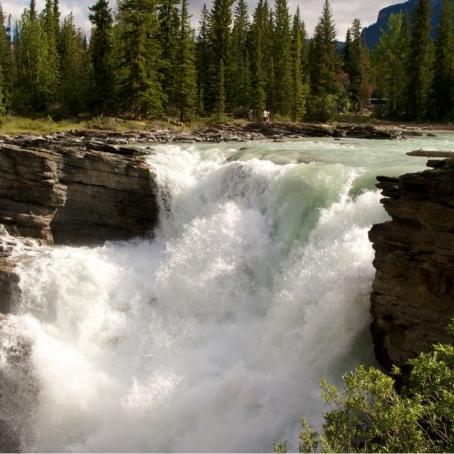 Athabasca Falls-2